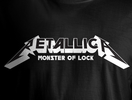 RETALLICA Monster of Lock T-shirt (LARGE)