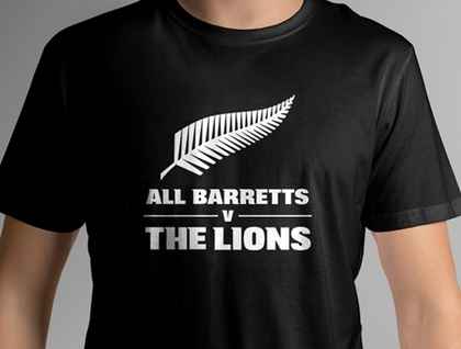 The All Barretts T-shirt (LARGE)