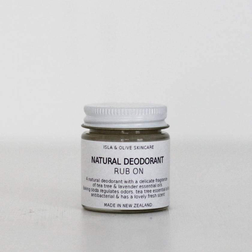Natural Deodorant Cream - 30g