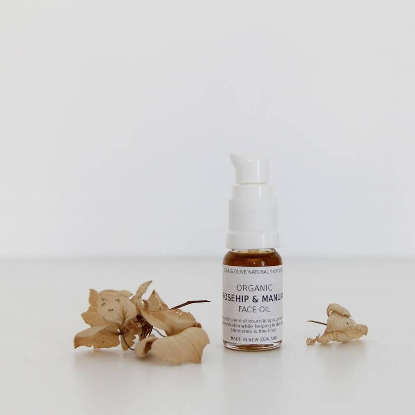 Rosehip and Manuka Organic Face Oil* - 15ml