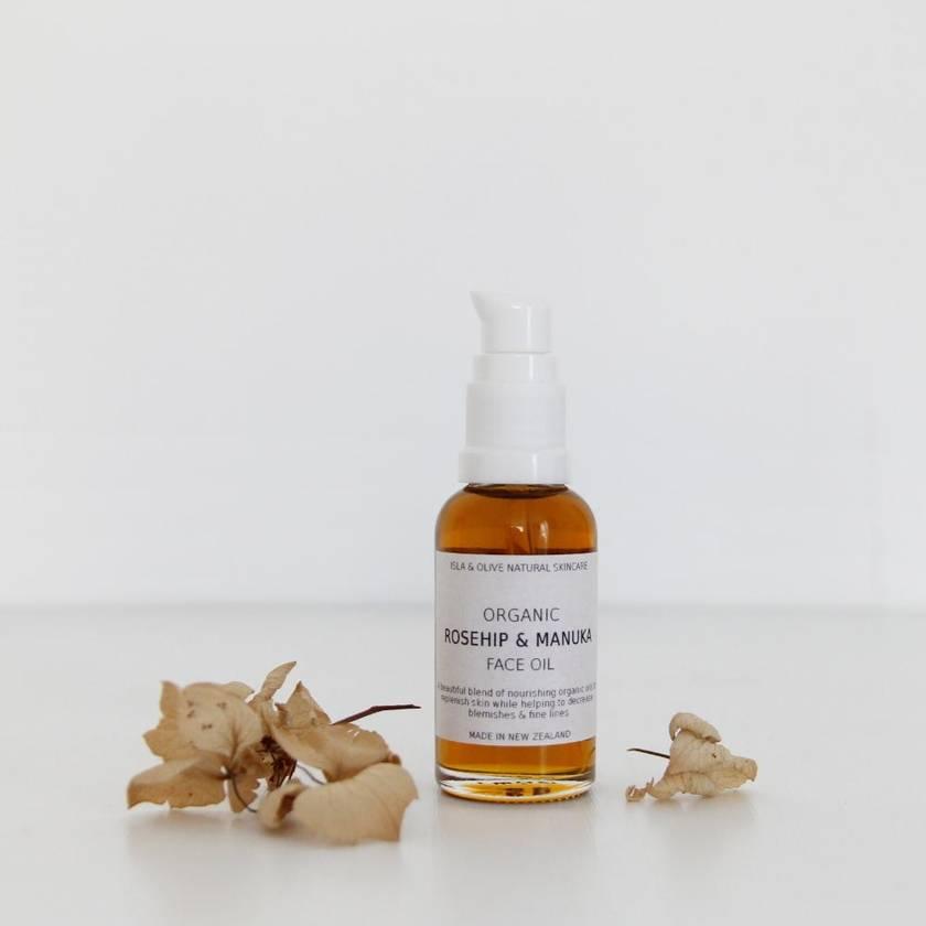Rosehip and Manuka Organic Face Oil - 30ml