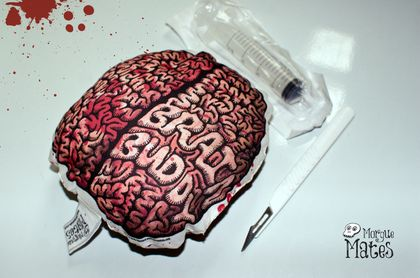 Brain Buddy - part of the Morgue Mates