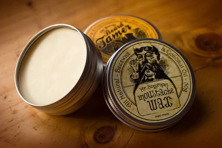 Mr. Bumgrope's Moustache Wax