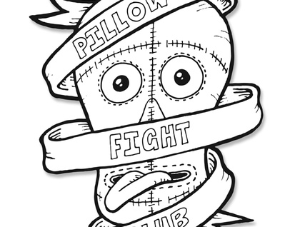 Pillow Fighting Club - set of five