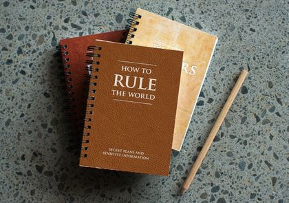 How to rule the world - secret plans and sensitive information