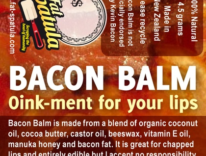 Bacon Balm : Oink-ment for your lips