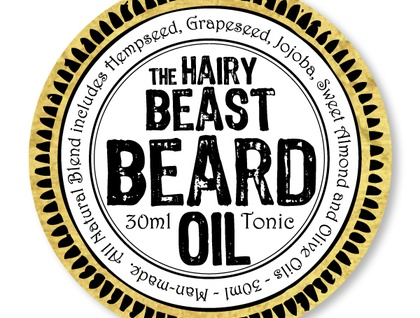 The Hairy Beast Beard Oil and Goat Horn comb