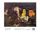 Bert and Ernie go skinny dipping - Print - A3