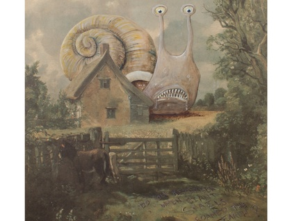 Do you remember when giant snails roamed the earth? - Print - A3