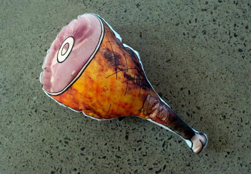 Leg of Ham - Pillow Fighting Cushion