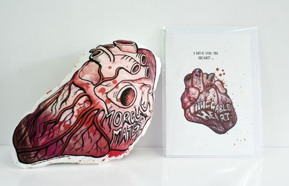 Huggable Heart and Gift Card