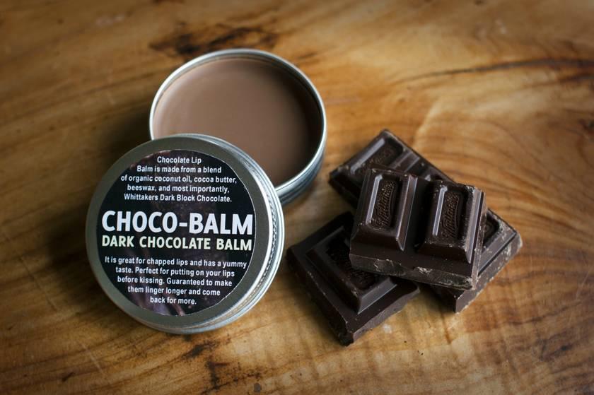 Choco Balm : Dark Chocolate Lip Balm