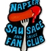 Napier Sausage and Sauce Fan Club - Enamel Pin