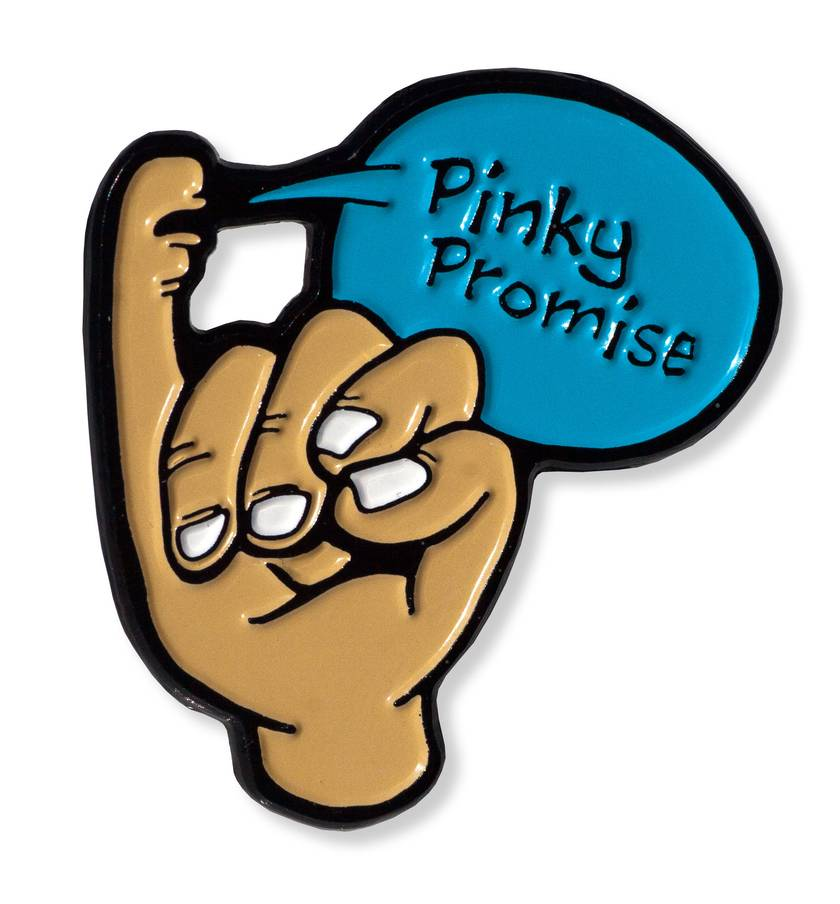 Pinky Promise - Enamel Pin