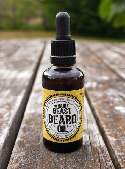 The (bigger) Hairy Beast Beard Oil