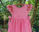 Quite Contrary - Pink Tie-side Pinny