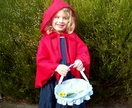 Little Red Riding Hood costume set by Purple Dress-Up Box