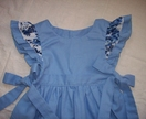 Delft Blauw Tie-side Pinny
