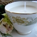 Vintage teacup Soy Candle - Queen Anne and Duchess mixed Duo