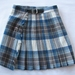 Wee Small Kilt - 100% wool Brown/Cream/Blue