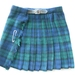 Wee Small Kilt - 100% wool Green/Blue/Black