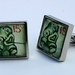 Tiki 1960 NZ Postage Stamp Cufflinks