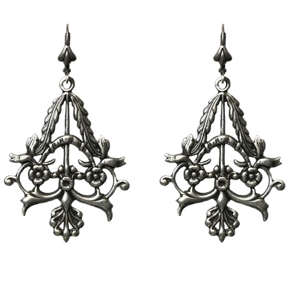 Art Nouveau French chandalier drop