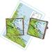 Map NZ (custom made) Cufflinks