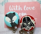Retractable ID badge holder Star Wars