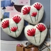 ♥ Pohutukawa Felted Heart decoration ♥