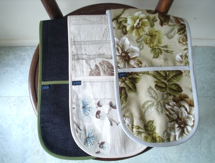 TWO oven cloths for $30!
