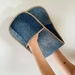 Recycled Denim Oven Cloth