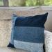 Upcycled Denim Cushion