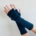 Denim Blue Merino Gloves