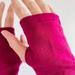 Fuchsia Merino Gloves