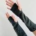 Grey Merino Gloves