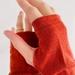 Burnt Orange Merino Gloves