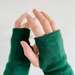 Leaf Green Merino Gloves