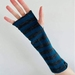 Blue Stripe Merino Gloves