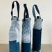Recycled Denim Wine Bag