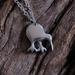Little Sterling silver Kiwi on sterling chain.