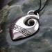 Sterling silver Fish Hook~Hei matu pendant