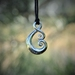 Sterling Silver Maori Koru love symbol ~New Zealand jewellery