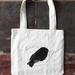 Black Robin Limited Edition Tote Bag