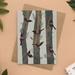 Saddleback - New Zealand Bird Illustrated Greeting Card