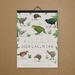 •Sale• Birds of NZ Illustrated A4 Eco-Friendly Calendar - Paper Binding