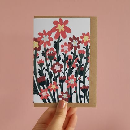 Wild Flowers Gift Card