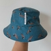 Blue Bucket hat with ducks - baby size