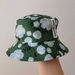 Green Floral Hat - toddler age size