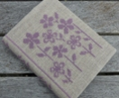 Cross Stitch A6 Journal & Cover - Field of Flowers